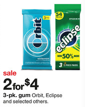Target Orbit Eclipse Gum Deal