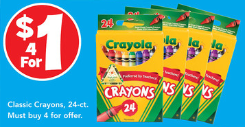 Toys R Us Crayola Crayons Deal