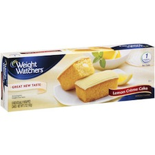 Weight Watchers Sweet Bakery Lemon Cake
