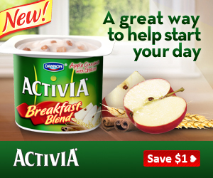 Activia Breakfast Blend Printable Coupon