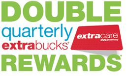 CVS Double ExtraBucks Rewards