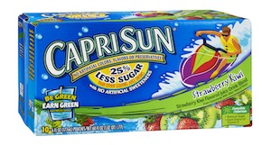 Capri Sun Strawberry Kiwi
