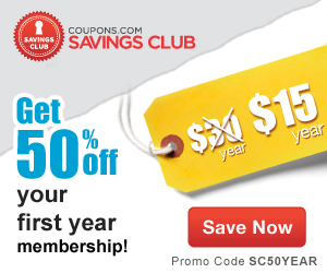 Coupons Com Savings Club Coupon Code