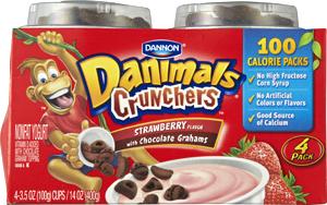Danimals Crunchers