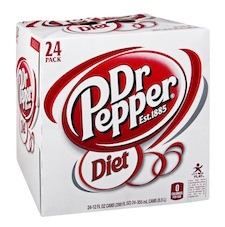 Diet Dr Pepper 24 Pack