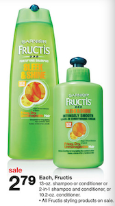 Garnier Fructis Sale