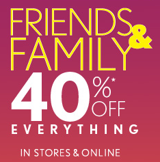 LOFT Friends Family Sale