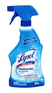 Lysol Power Free Bathroom Cleaner