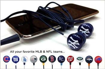 MLB NFL Earbuds