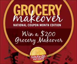 National Coupon Month Grocery Makeover Contest