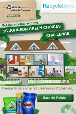 Recyclebank SC Johnson Challenge