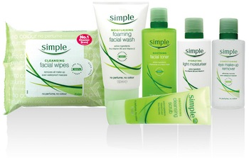 Simple Skin Care Items