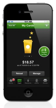 Starbucks Mobile App