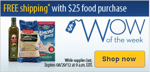 Vitacost: FREE $10 Credit + FREE Shipping on Food Purchases