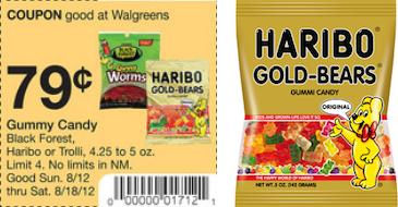Walgreens Haribo Coupon Deal