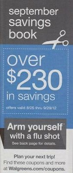 Walgreens September 2012 Coupon Booklet