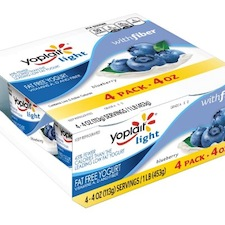 Yoplait Light with Fiber