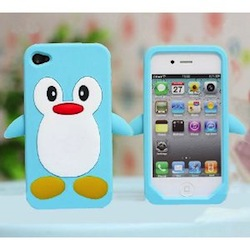 Blue Penguin iPhone Case