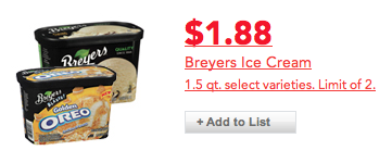 Cub Foods Breyers Blasts Ice Cream Deal
