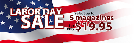Discount Mags Labor Day Magazine Sale