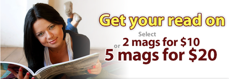 Discount Mags Magazine Sale