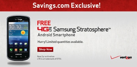 FREE Samsung Stratosphere
