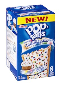 Frosted Confetti Cupcake Pop Tarts