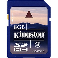 Kingston 8GB Memory Card
