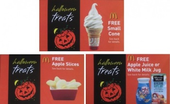 McDonalds Treats Coupons
