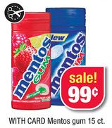 Mentos Gum CVS Deal