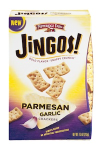 Pepperidge Farm Jingos Parmesan Garlic