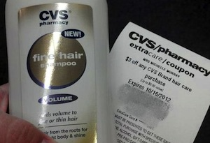 CVS FREE Shampoo