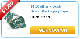 Duck Brand Packaging Tape Coupon