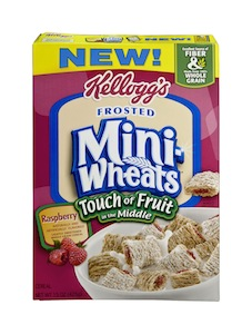 Kelloggs Mini Wheats Touch of Fruit Coupon
