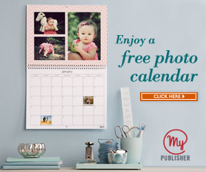 MyPublisher FREE Photo Calendar