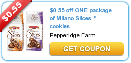 Pepperidge Farm Milano Slices Coupon