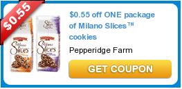 Pepperidge Farm Milano Slices Coupon