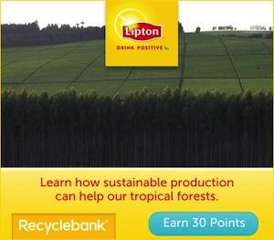 Recyclebank Lipton
