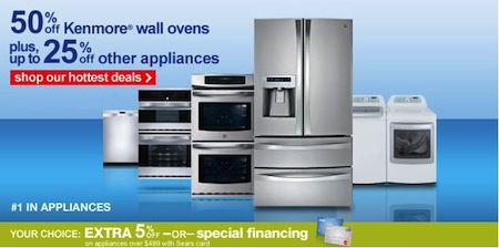 Sears Kenmore Wall Ovens Sale