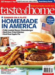 Taste of Home Magazine $3.99/Year