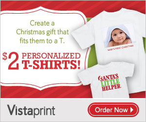 Vistaprint 2 T Shirts