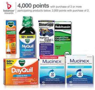 Walgreens Advil Robitussin Balance Rewards Deal