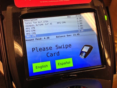 Walgreens Transaction Total