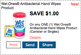 Wet Ones Coupon