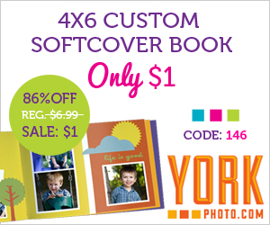York Photo Softcover Photo Book