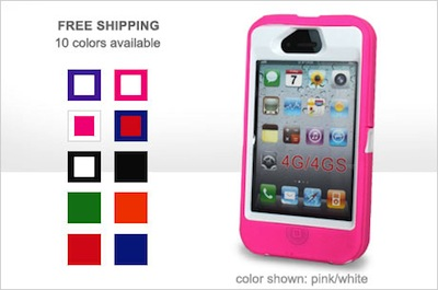 OtterBox-Inspired iPhone 4/4S Case $10 Shipped