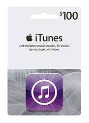 100 iTunes Gift Card