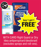 CVS Right Guard BOGO Sale
