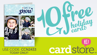 Cardstore FREE Holiday Cards
