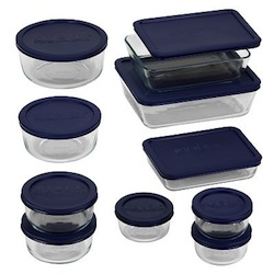 Pyrex Glass Storage Set